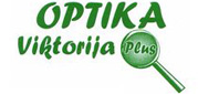 Optika Viktorija plus logo