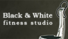 Fitnes studio black & white