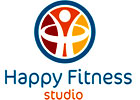 Happy fitness studio