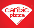 Caribic pizza - pizza cut