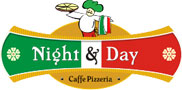 Cafe pizzeria night & day