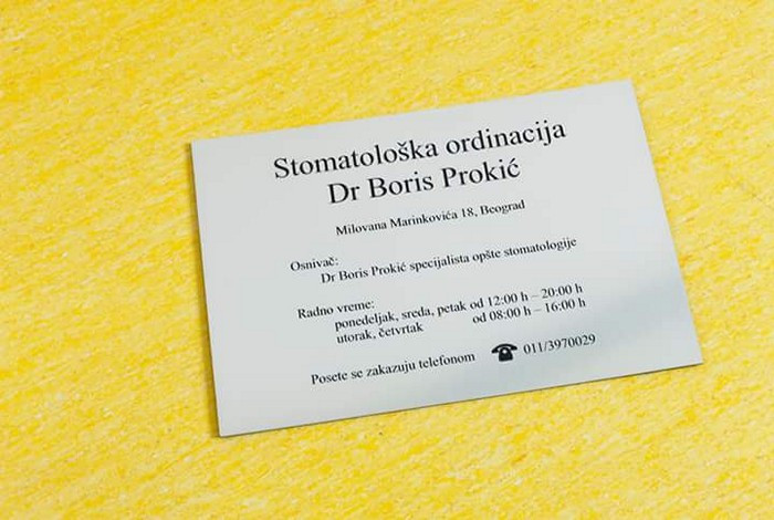 Stomatološka ordinacija dr boris prokić - DENTAL TOURISM - 1