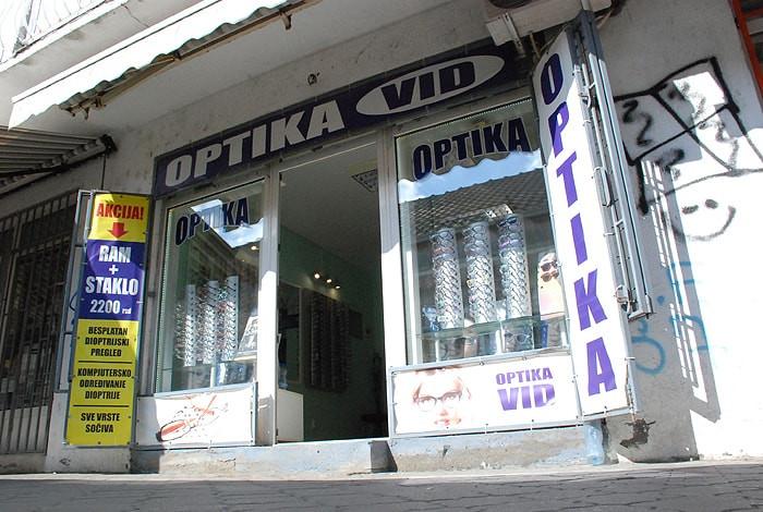 Optičarska radnja Vid - LOKACIJA VIDIKOVAC - 1
