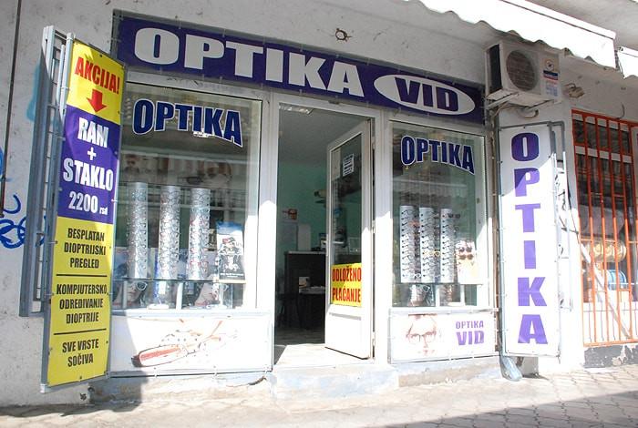 Optičarska radnja Vid - OPTIKA VID - 1