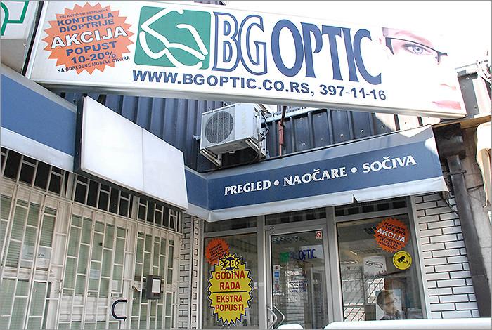 Bg optic - O NAMA - 1
