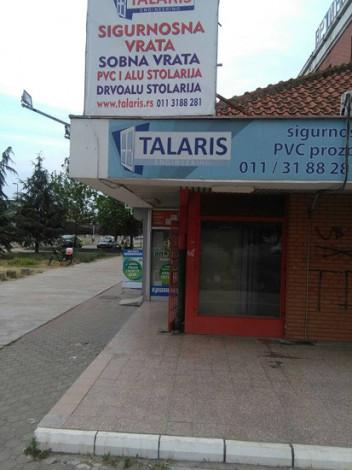 Talaris Engineering - Garažna vrata - IZLOŽBENI SALONI - 1
