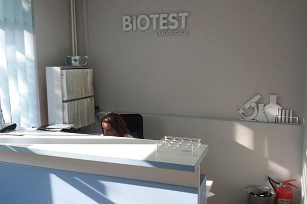 Biotest - Biohemijske Laboratorije - TEST INTOLERANCIJE NA HRANU - 1