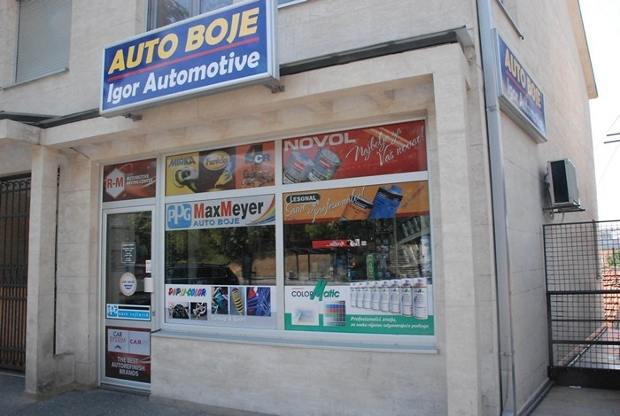 Auto boje Igor Automotive - LOKACIJA VOŽDOVAC - 1