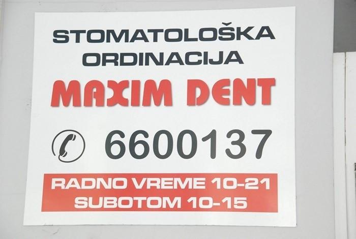Stomatološka ordinacija maxim dent - O NAMA - 1