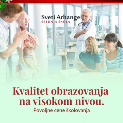 Srednja medicinska škola Sveti Arhangel - PETI STEPEN STRUČNE SPREME - 1