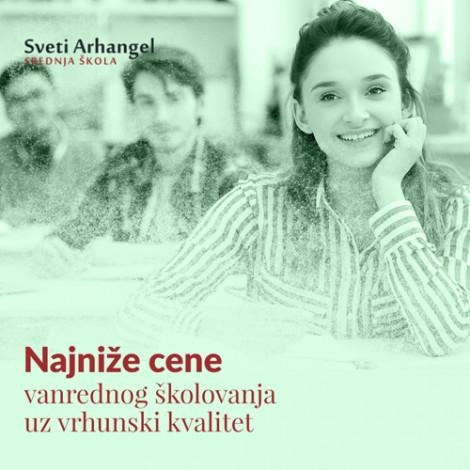 Srednja medicinska škola Sveti Arhangel - VIDOVI ŠKOLOVANJA - 1