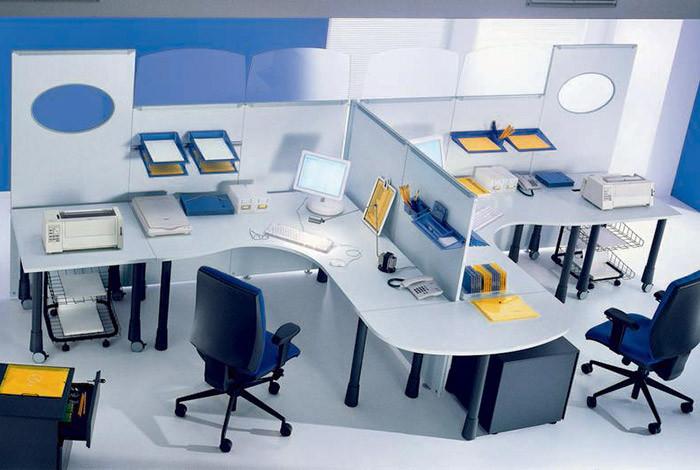 Anaks kancelarijski nameštaj - SISTEM PREGRADA - 1