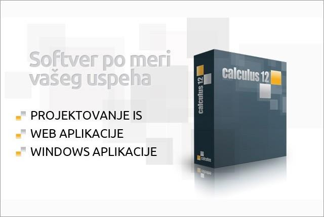 Prodaja softvera Calculus - O NAMA - 1