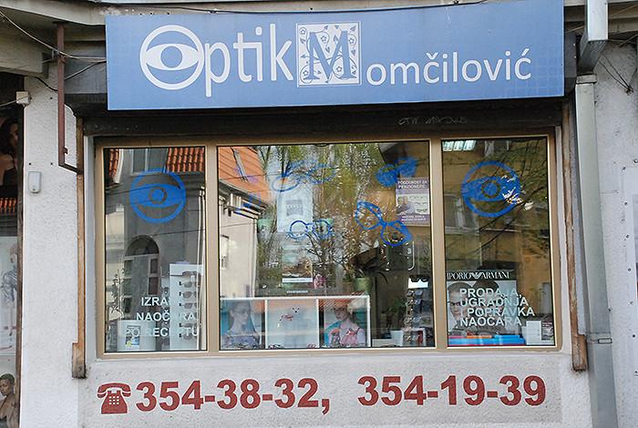 Optik Momčilović - OPTIK MOMČILOVIĆ - BANOVO BRDO - 1