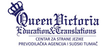 Queen Victoria Education - škola stranih jezika logo