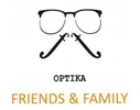 Optičarska radnja Friends and Family logo