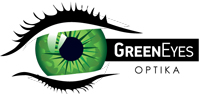 Optika Green Eyes logo